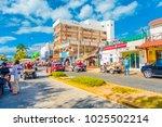 isla mujeres  mexico  january... | Shutterstock . vector #1025502214