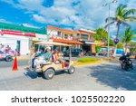 isla mujeres  mexico  january... | Shutterstock . vector #1025502220