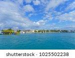 isla mujeres  mexico  january...   Shutterstock . vector #1025502238