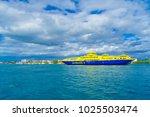 isla mujeres  mexico  january...   Shutterstock . vector #1025503474
