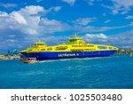 isla mujeres  mexico  january...   Shutterstock . vector #1025503480
