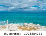 beautiful outdoor view on the... | Shutterstock . vector #1025504188