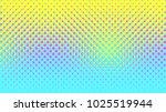 halftone gradient pattern... | Shutterstock .eps vector #1025519944