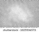 zigzag lines halftone engraving ... | Shutterstock .eps vector #1025536573