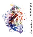 vector color illustration of a... | Shutterstock .eps vector #1025539153