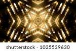 golden light stage | Shutterstock . vector #1025539630
