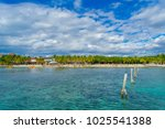 cancun  mexico   january 10 ... | Shutterstock . vector #1025541388