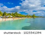 cancun  mexico   january 10 ... | Shutterstock . vector #1025541394