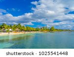 cancun  mexico   january 10 ... | Shutterstock . vector #1025541448