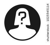 incognito  unknown person ... | Shutterstock .eps vector #1025545114