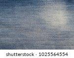 texture of blue denim fabric....   Shutterstock . vector #1025564554