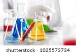 Small photo of Creative abstract chemistry development