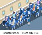 isometric 3d vector... | Shutterstock .eps vector #1025582713