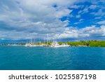isla mujeres  mexico  january... | Shutterstock . vector #1025587198