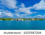 isla mujeres  mexico  january... | Shutterstock . vector #1025587204