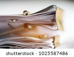stack of paper documents with...   Shutterstock . vector #1025587486