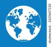 world map  globe western...   Shutterstock .eps vector #1025607220