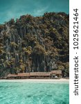 banul beach in coron palawan | Shutterstock . vector #1025621464