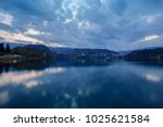 view of famous island and...   Shutterstock . vector #1025621584