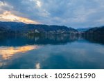 view of famous island and...   Shutterstock . vector #1025621590