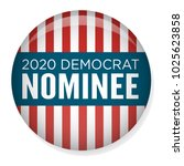 2020 campaign election pin... | Shutterstock .eps vector #1025623858