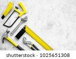 various repair tools. must have ... | Shutterstock . vector #1025651308