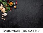 gastronomy  culinary. secrets... | Shutterstock . vector #1025651410