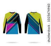jersey design for extreme... | Shutterstock .eps vector #1025674960
