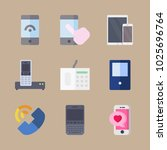 icons phones with tablet ...   Shutterstock .eps vector #1025696764