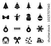 solid vector icon set  ... | Shutterstock .eps vector #1025707060