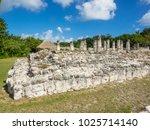 el rey ruins located in the...   Shutterstock . vector #1025714140