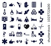 Medical Icons. Set Of 36...