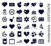day icons. set of 36 editable... | Shutterstock .eps vector #1025722678