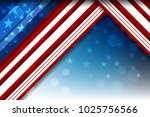 flag of usa background for... | Shutterstock .eps vector #1025756566