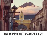 colonial architecture in...   Shutterstock . vector #1025756569