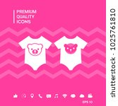 baby rompers icon   Shutterstock .eps vector #1025761810