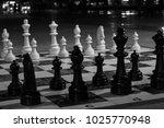 chessmen against the background ...   Shutterstock . vector #1025770948