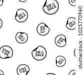 sale 50  percent off sticker...   Shutterstock .eps vector #1025770960