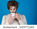 morning with coffee or milk.... | Shutterstock . vector #1025771263