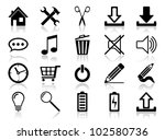 icon set. vector illustration...   Shutterstock .eps vector #102580736