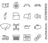 flat vector icon set   network... | Shutterstock .eps vector #1025809840