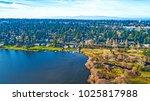 lake ballinger edmonds... | Shutterstock . vector #1025817988