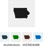 map of iowa | Shutterstock .eps vector #1025826688