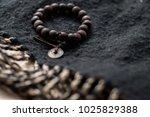 ethnic cult religion bracelets... | Shutterstock . vector #1025829388