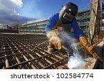 welder | Shutterstock . vector #102584774