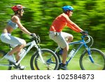image in motion of two... | Shutterstock . vector #102584873