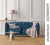 interior of the living room... | Shutterstock . vector #1025865079