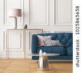 interior of the living room... | Shutterstock . vector #1025865658