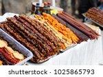 armenian sweetness yummy | Shutterstock . vector #1025865793