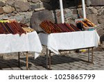 armenian sweetness yummy | Shutterstock . vector #1025865799